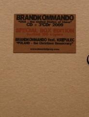 Brandkommando & Krepulec - USA of China 2CD BOX SET (Lim100) 2009