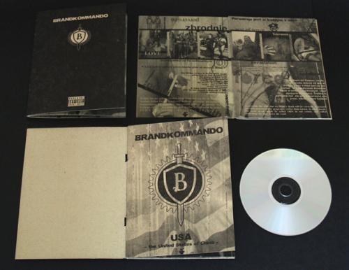 Brandkommando - USA - The United States Of China CD (Lim350)