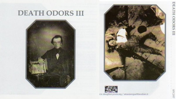 V/A Sampler - Death Odors III CD (Lim500)