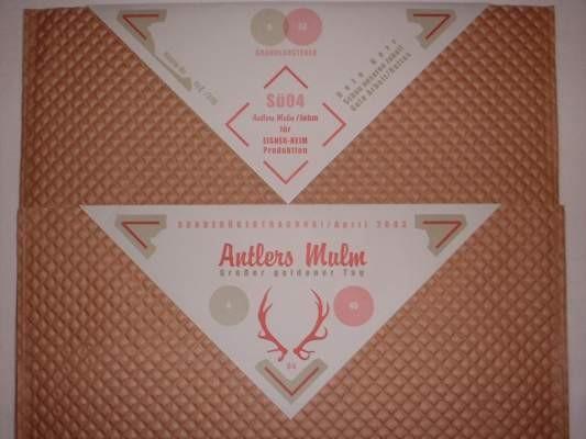 Antlers Mulm (Radio Eichenlaub) - Großer goldener Tag LP Lim310 SPEC COVER (2007)