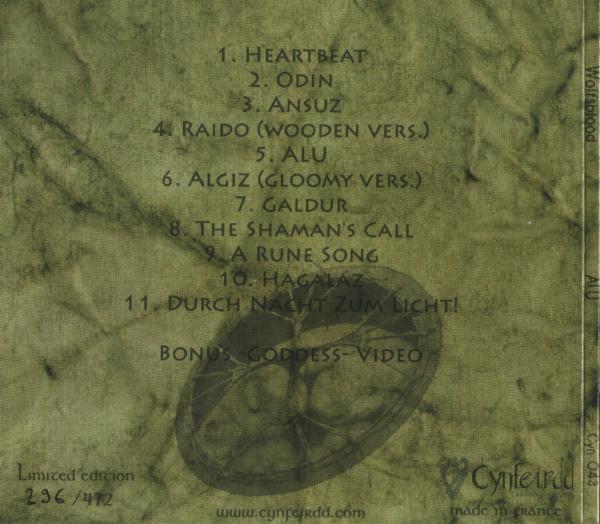 Wolfsblood – ALU CD (Lim472)