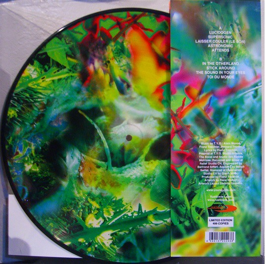 The Young Gods - Second Nature Pic LP (Lim299)