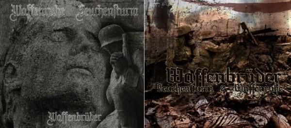 Waffenruhe / Seuchensturm - Waffenbrueder CD (2nd Lim100)