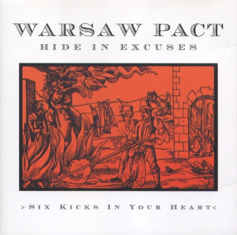 Warsaw Pact – Six Kicks In Your Heart CD (2000)
