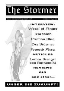 THE STORMER zine - issue 8 (BIG A4)