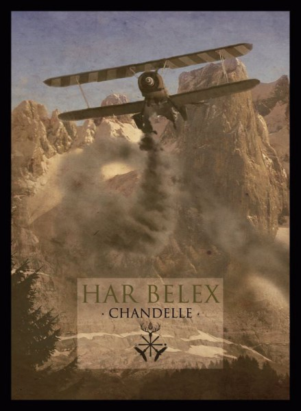 HAR BELEX - Chandelle CD A5 Digipack 2015