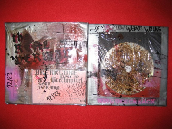 King Drecksack (BLO) - The real vermin ANTI CD (Lim23)