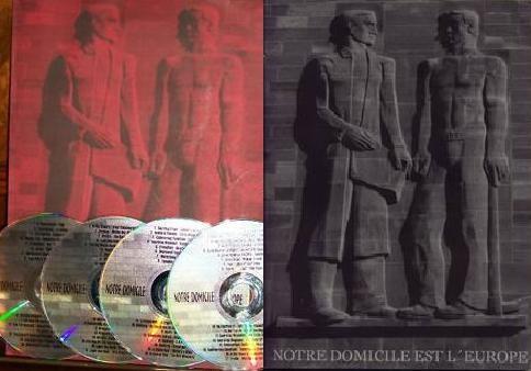 THAGLASZ (Death in June) - Notre Domicile Europe SET RED (Lim25)