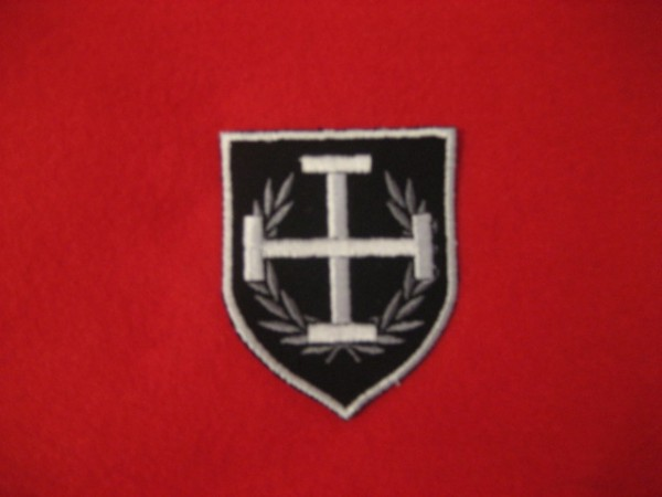 Shield Crutch Cross - Patch
