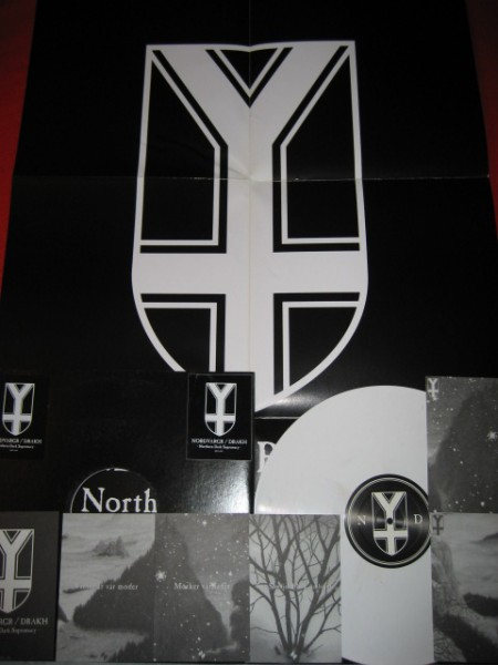 Nordvargr / Drakh - Northern Dark Supremacy LP (Lim249)