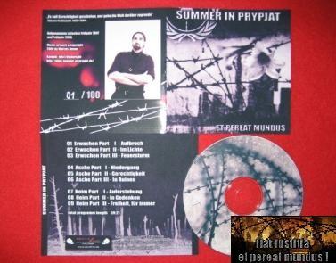 Summer in Prypjat - Et Pereat Mundus CD (Lim100) 2008