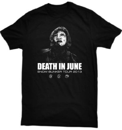 Death in June - Snow Bunker Tour 2013 Shirt