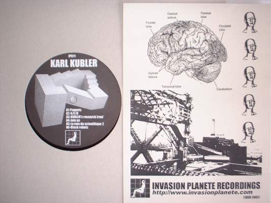 Karl Kubler / Raison Future - Split LP (Lim700)