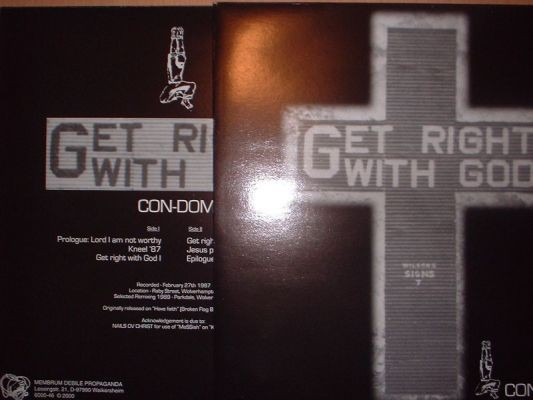 Con-Dom - Get Right With God LP (Lim300)