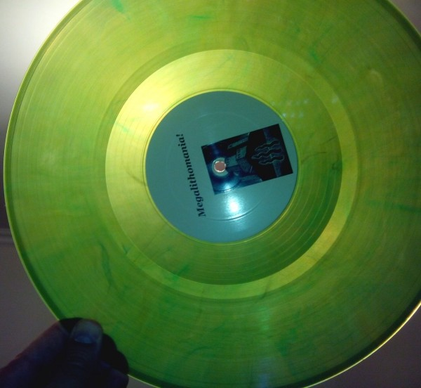 COIL - Megalithomania! clear green LP (Lim50)