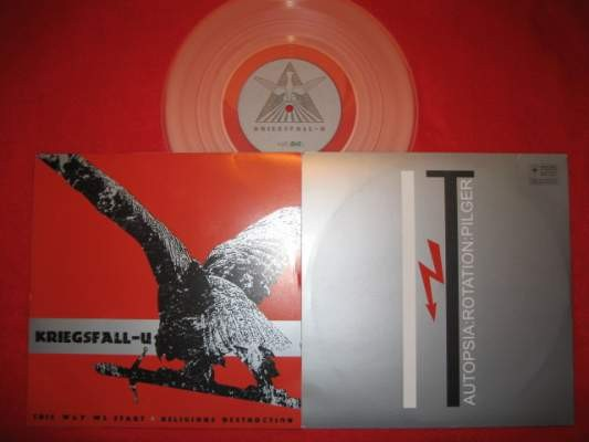 "Kriegsfall-U / Autopsia - Religious Destruction 10"" (Lim298)"