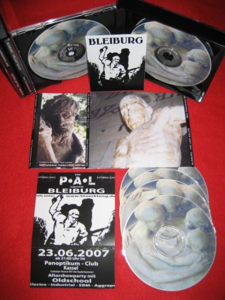 BLEIBURG - The last salute 4CD Box (Lim45)