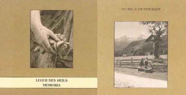 LEGER DES HEILS - Memoria CD (2008) RARE!