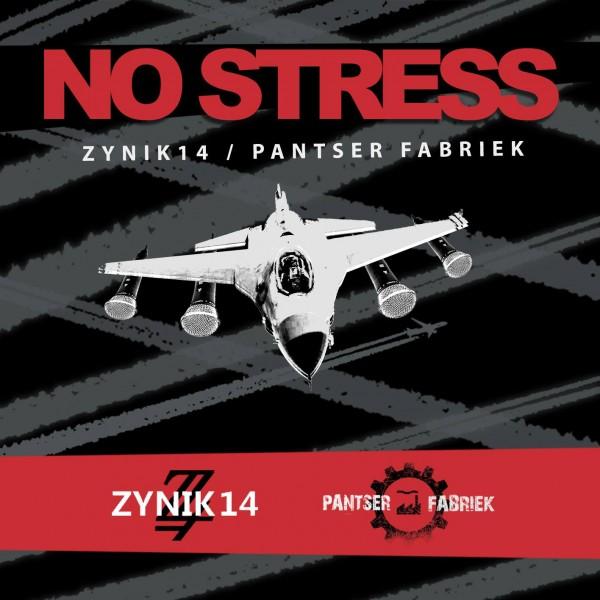 ZYNIK 14 / PANTSER FABRIEK - No Stress Split CDr (Lim100) VÖ 11.10 PRE-ORDER !