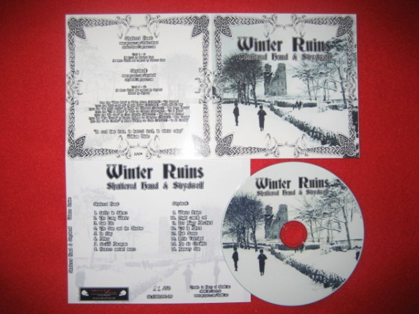 Shattered Hand & Strydwolf - Winter Ruins CD (2nd Lim100)