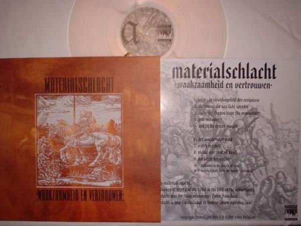 Materialschlacht (ACOH) - Waakzaamheid en Vertrouwen LP (Lim100)