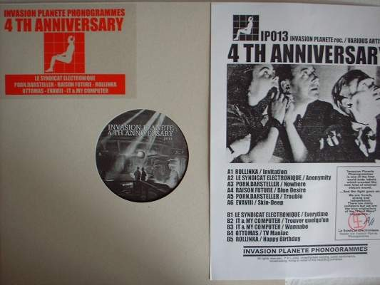 V/A Sampler - 4 th Anniversary Invasion Planet LP (Lim1000)