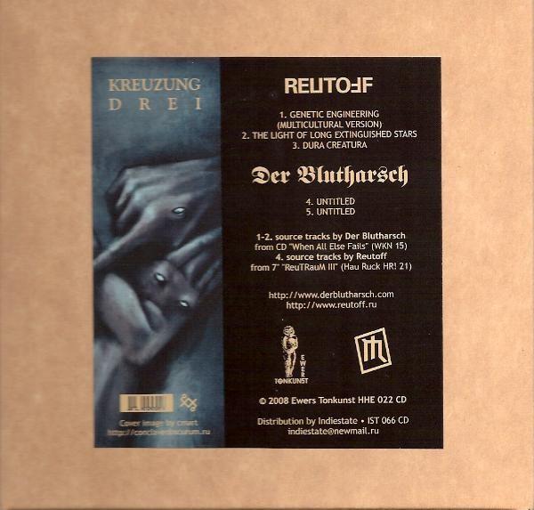 Reutoff vs Der Blutharsch – Kreuzung Drei CD (Lim700)