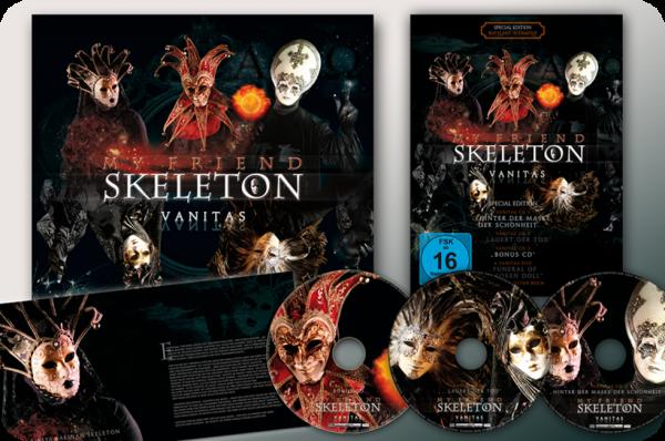My Friend Skeleton - Vanitas 4CD+Shirt BOX SET (+signed)