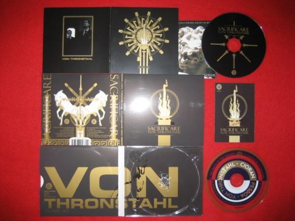 VON THRONSTAHL - Sacrificare 2CD 2017