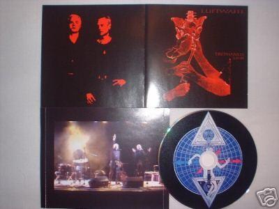Luftwaffe /Death in June/Ostara - Trephanus Uhr CD (1st+signed)