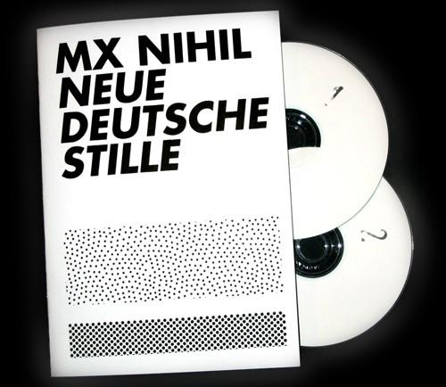 MX Nihil - Neue Deutsche Stille 2CD (Lim25)
