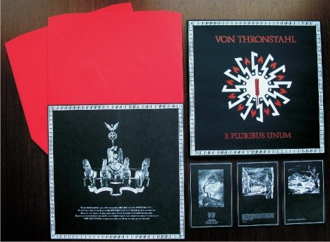 Von Thronstahl - E Pluribus Unum 2LP red (Lim100+signed)