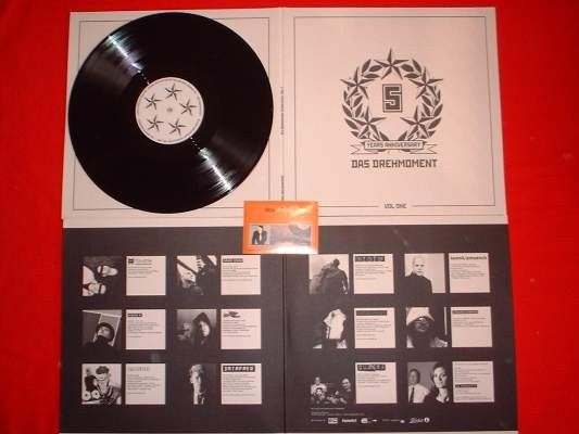 V/A Sampler - Das Drehmoment 5 Years Anniversary LP Vol.1 Lim500