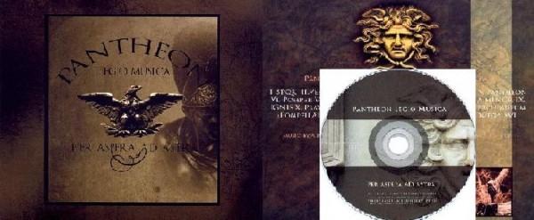 Pantheon Legio Musica - Per Aspera Ad Astra Digi CD (Ltd)