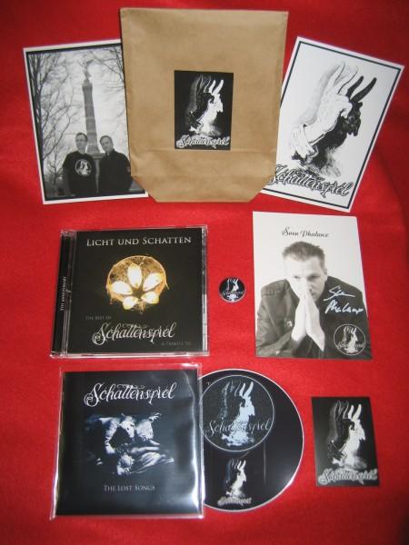 SCHATTENSPIEL - Licht Und Schatten / Best Of 3CD-SET Lim50