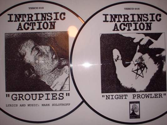 Intrinsic Action - Groupies LP (Lim500)