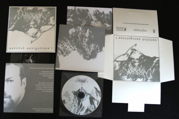 Nordvargr - Untitled Navigations 1 CD (Lim300) 2009