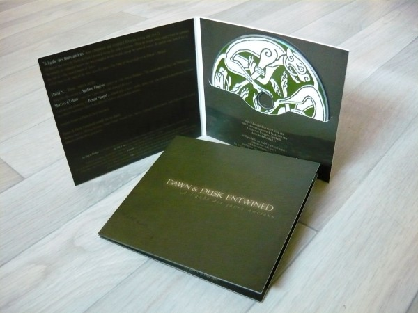 DAWN & DUSK ENTWINED - A L'aube Des Jours Anciens CD +signed 2011