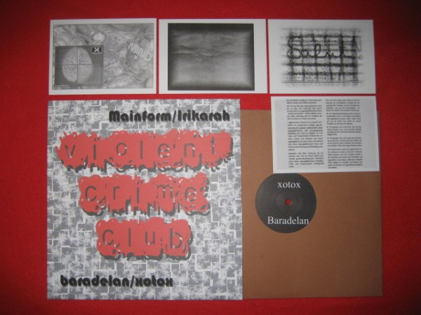 "V/A Sampler - Violent Crime Club 10"" (Lim264) 2007"