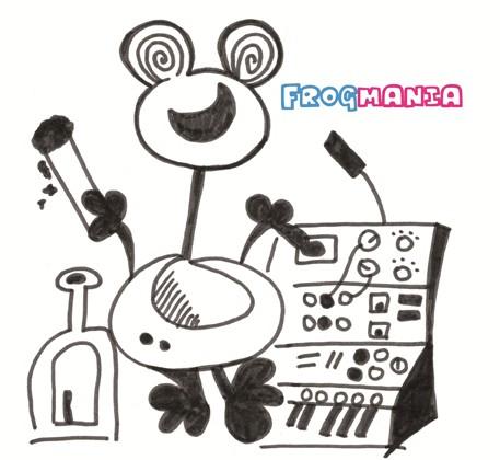 V/A Sampler - Frogmania LP (Lim300)
