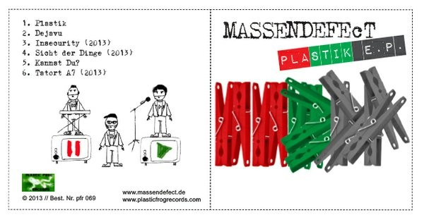 MassendefeCt - Plastik E.P. CDr (Ltd) 2013