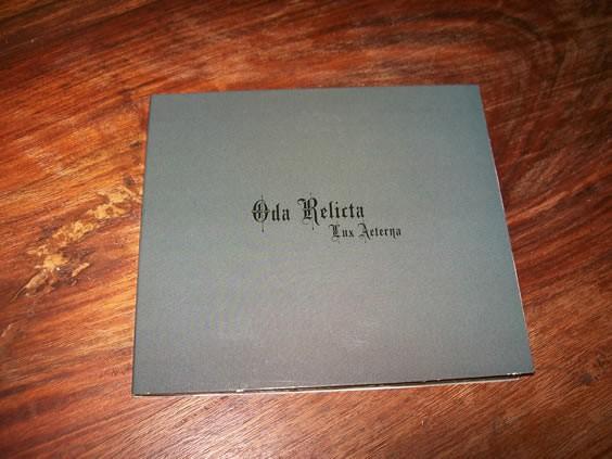 Oda Relicta - Lux Aeterna CD