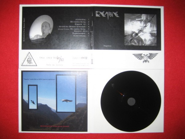 Bonemachine - Vogelfrei CD (black Lim77)