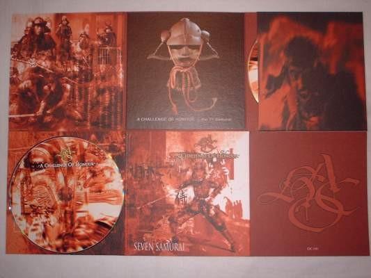 A Challenge of Honour - Seven Samurai CD (Lim1000)