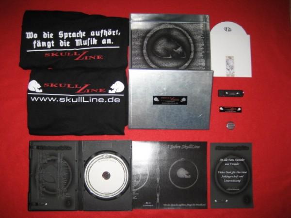 V/A - 5th Anniversary / 5 Jahre SkullLine STEEL-BOX (Lim50) 2010