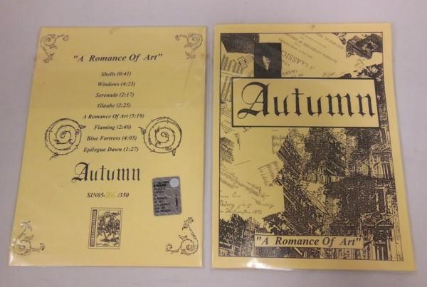 AUTUMN - A Romance Of Art CD (Lim350)