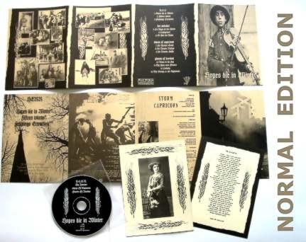 V/A Sampler - Hopes die in Winter CD (Lim500) 2008