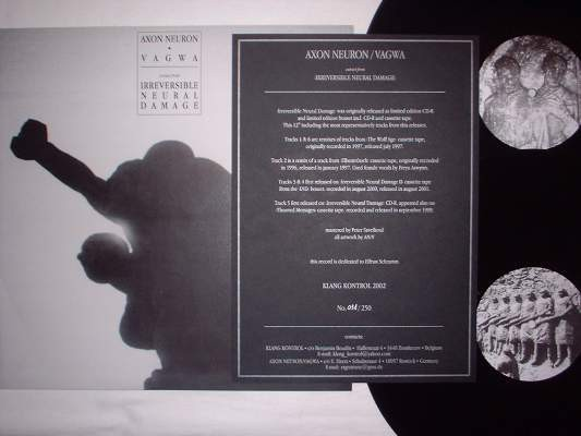 Axon Neuron / Vagwa - Irreversible Neural Damage LP (Lim250)