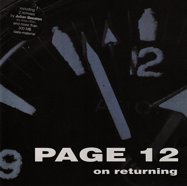 PAGE 12 (Nitzer Ebb) - On Returning CD (Lim1000) RARE