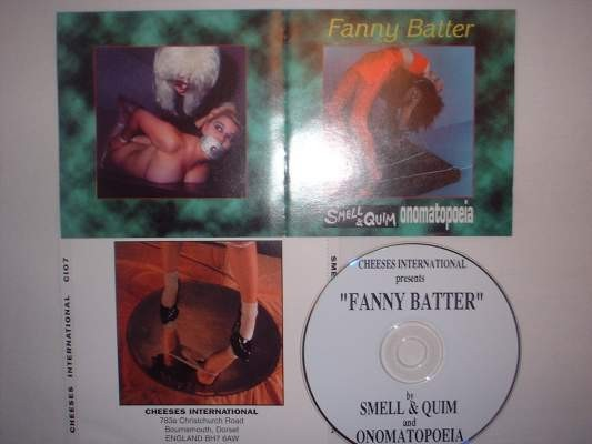 Smell & Quim /Onomatopoeia - Fanny Batter CD (Lim444)